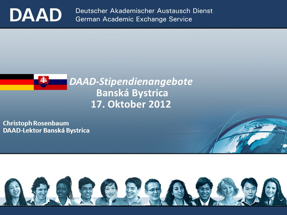 DAAD-Stipendienangebote