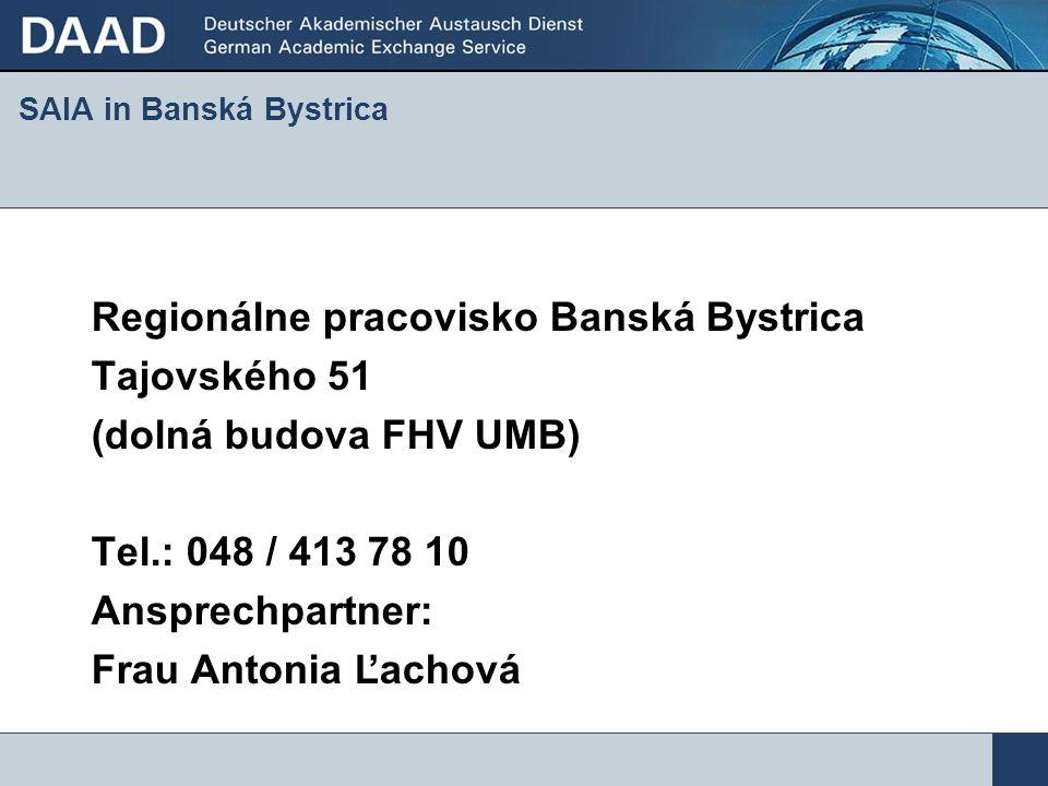 SAIA in Banská Bystrica