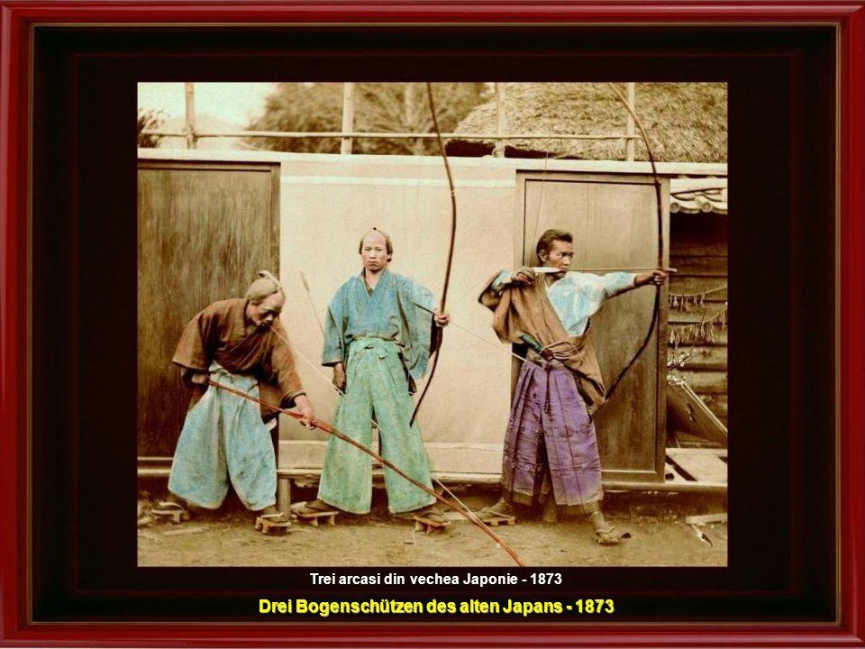 Drei Bogenschützen des alten Japans - 1873
