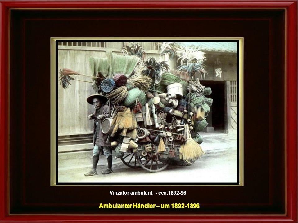 Ambulanter Händler – um 1892-1896