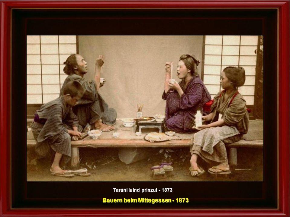 Bauern beim Mittagessen - 1873