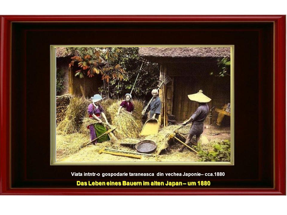 Das Leben eines Bauern im alten Japan – um 1880