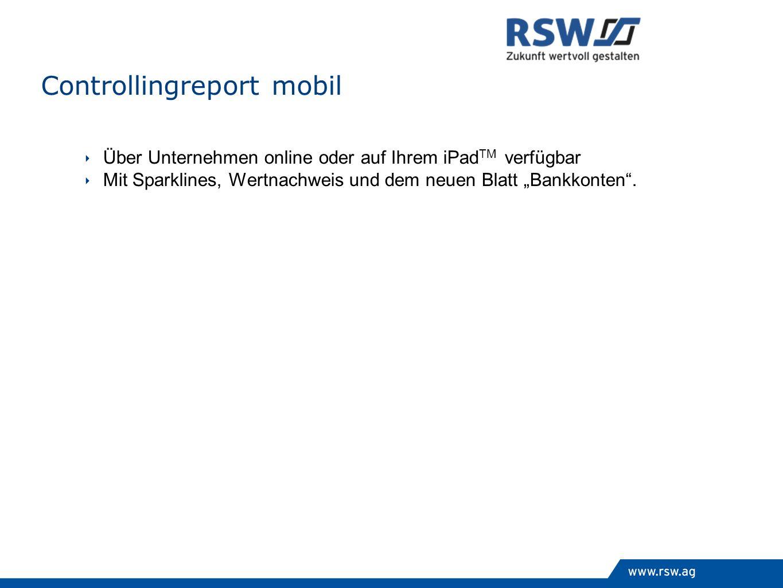 Controllingreport mobil