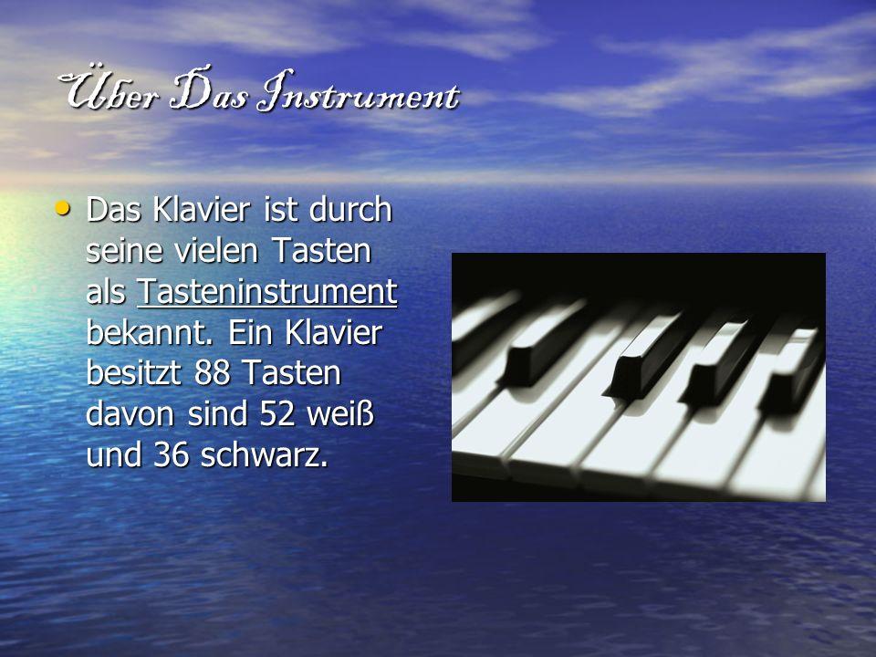 Über Das Instrument