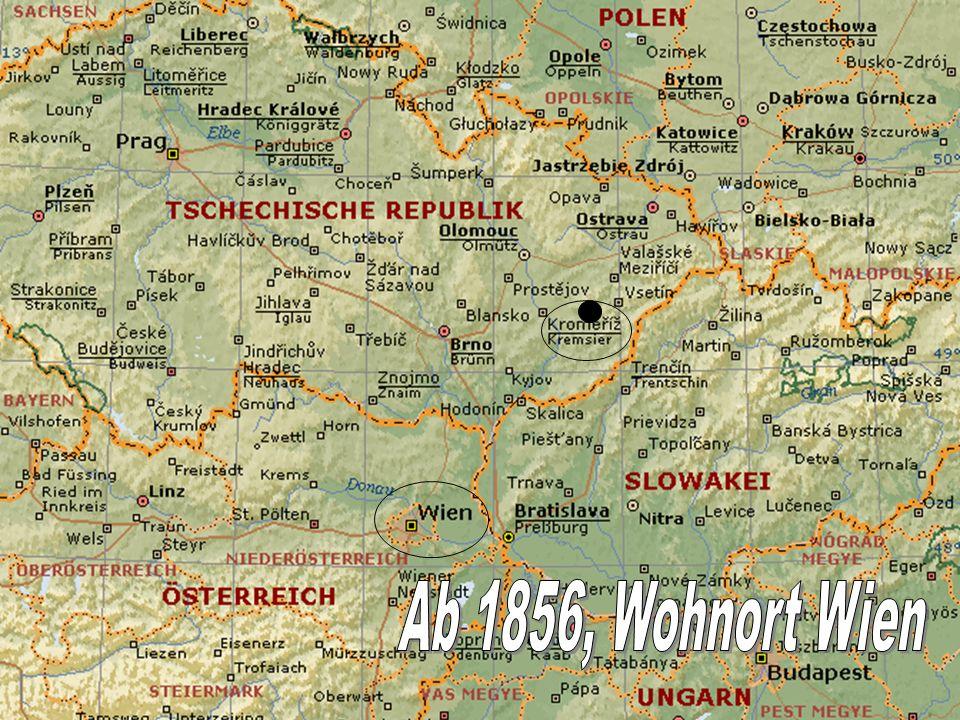 Ab 1856, Wohnort Wien