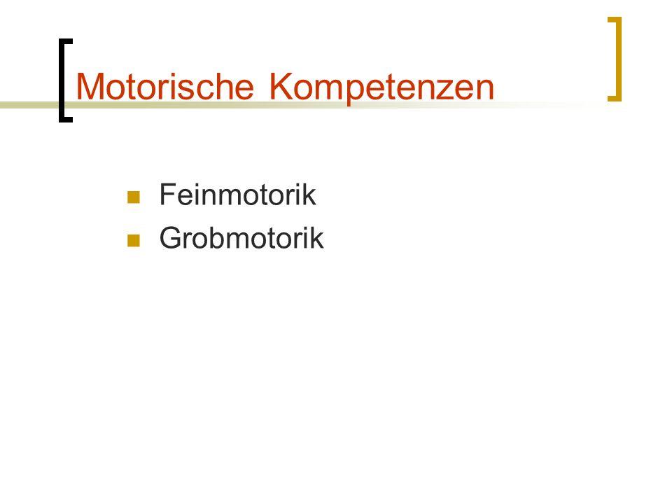 Motorische Kompetenzen