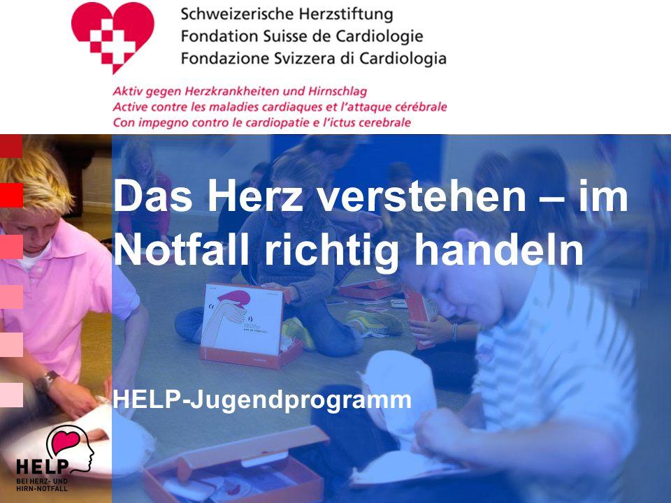 Das Herz verstehen – im Notfall richtig handeln HELP-Jugendprogramm