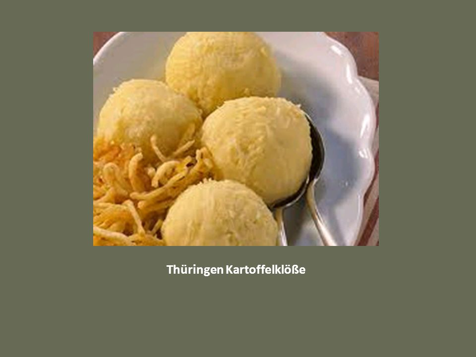 Thüringen Kartoffelklöße