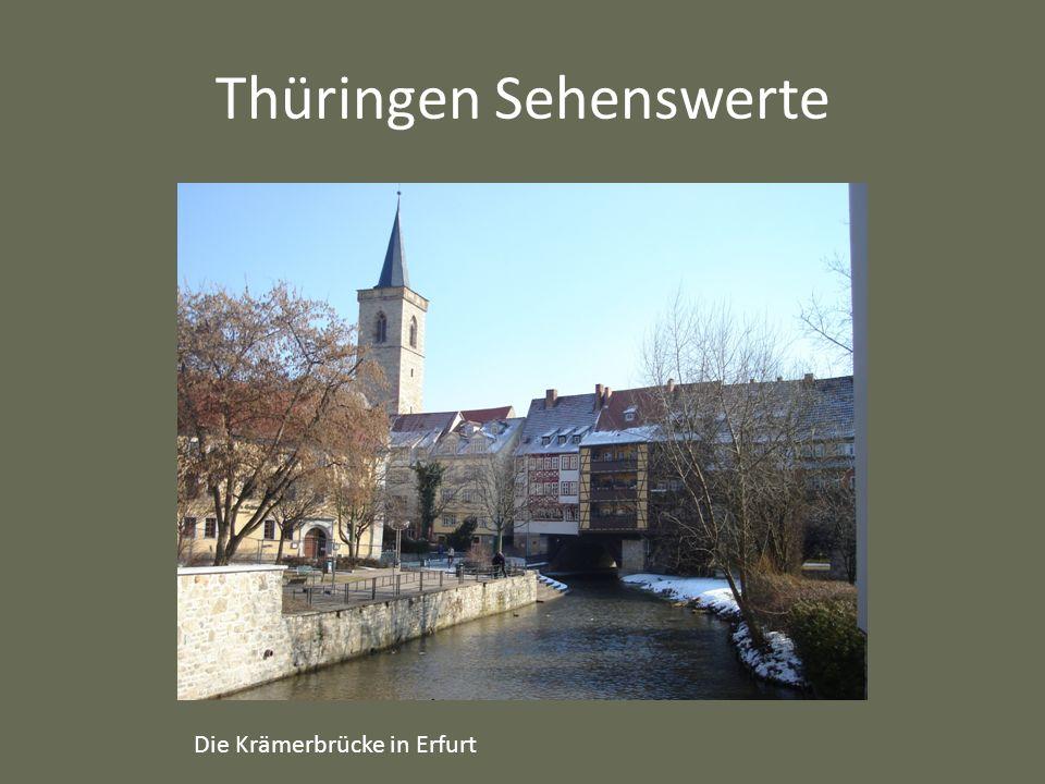 Thüringen Sehenswerte