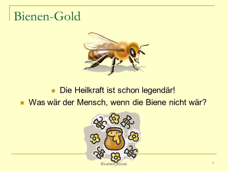 Bienen-Gold Die Heilkraft ist schon legendär!