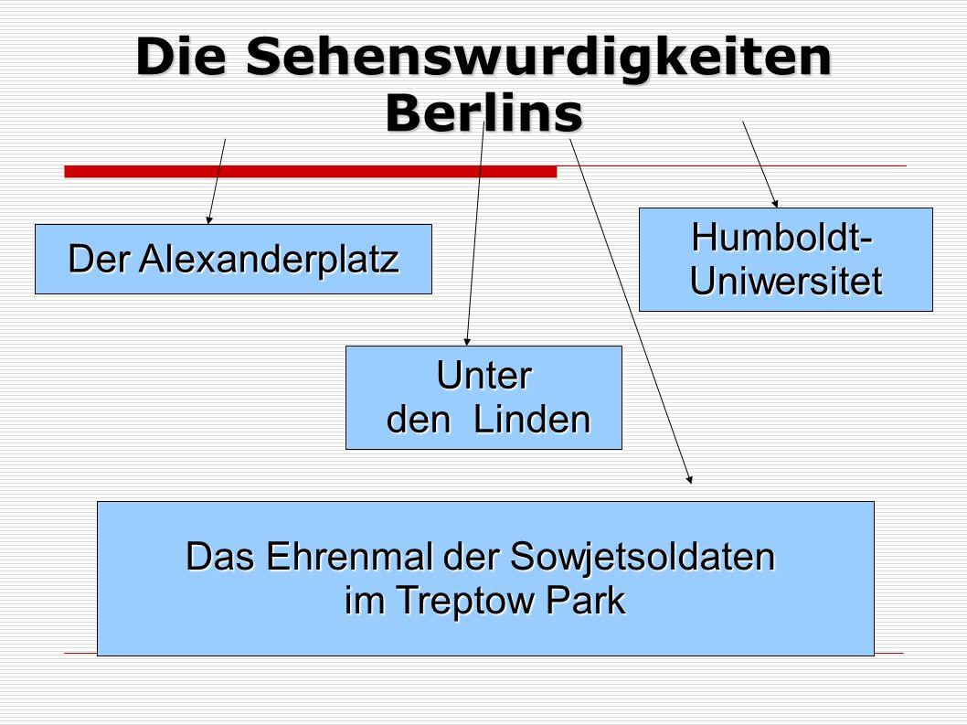 Die Sehenswurdigkeiten Berlins