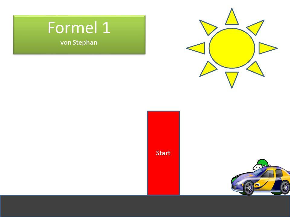 Formel 1 von Stephan Start