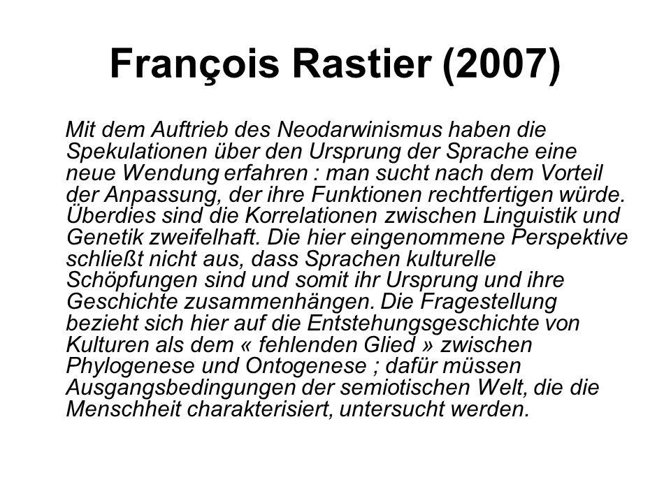 François Rastier (2007)