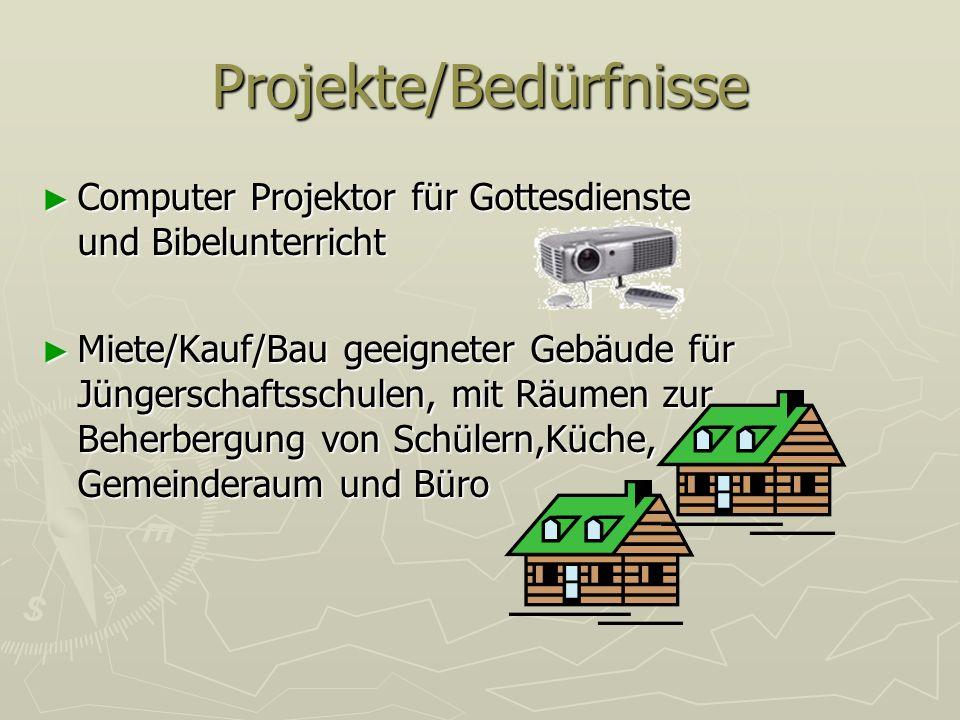 Projekte/Bedürfnisse
