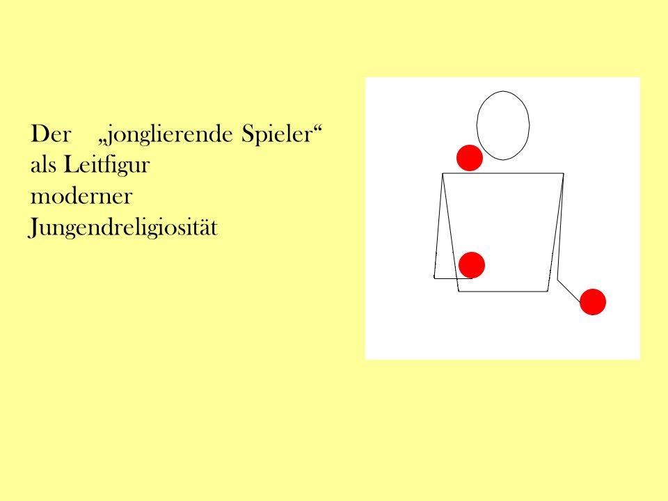 "Der ""jonglierende Spieler als Leitfigur moderner Jungendreligiosität"