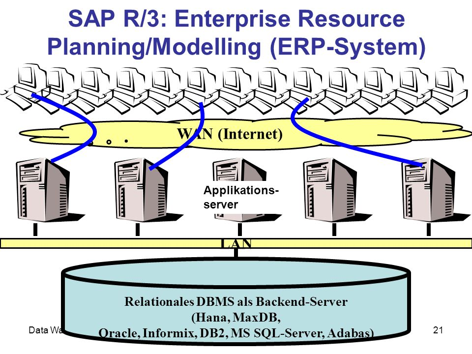 SAP R/3: Enterprise Resource Planning/Modelling (ERP-System)