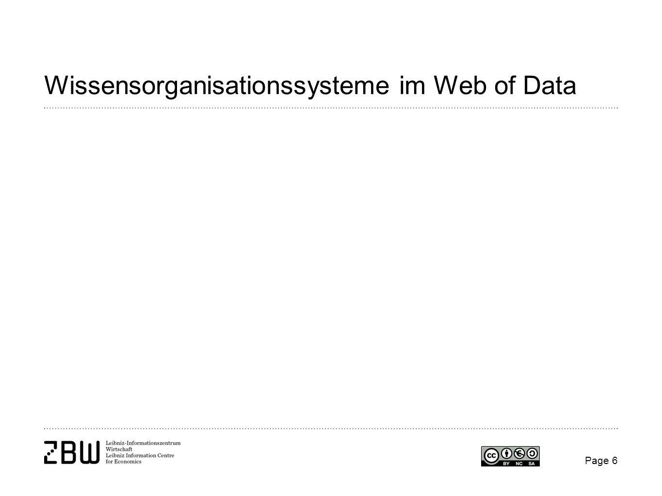 Wissensorganisationssysteme im Web of Data