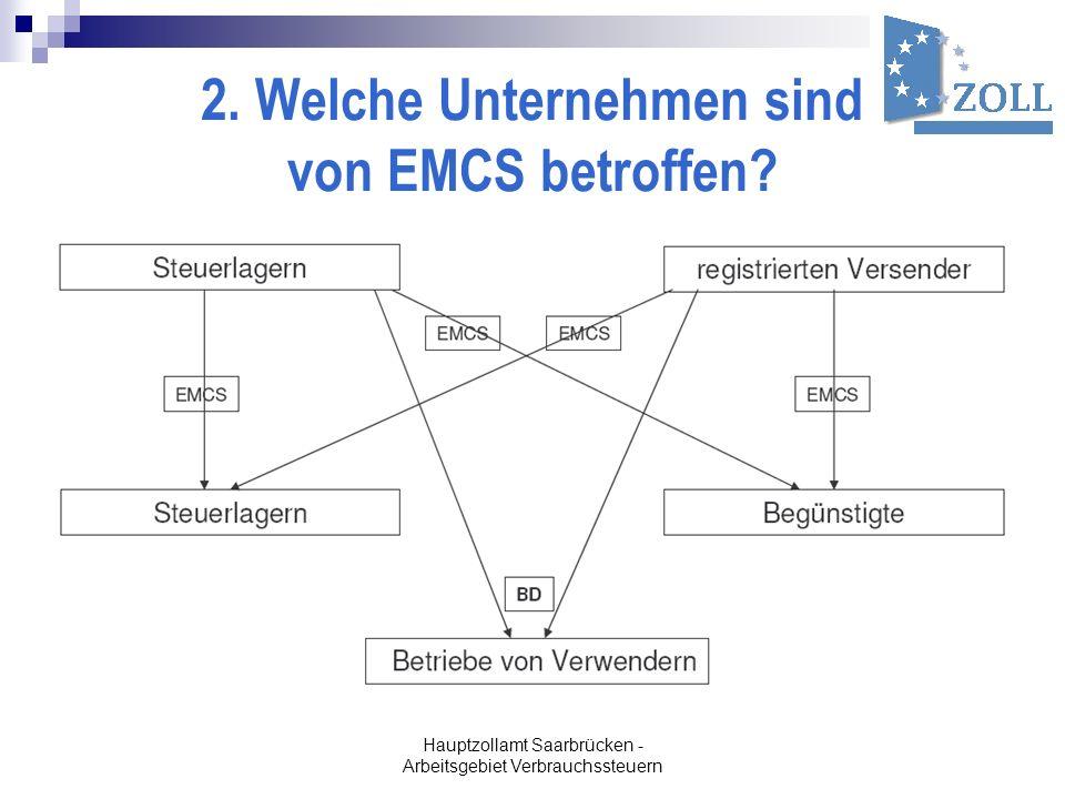 2. Welche Unternehmen sind von EMCS betroffen