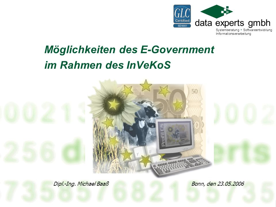 Möglichkeiten des E-Government im Rahmen des InVeKoS