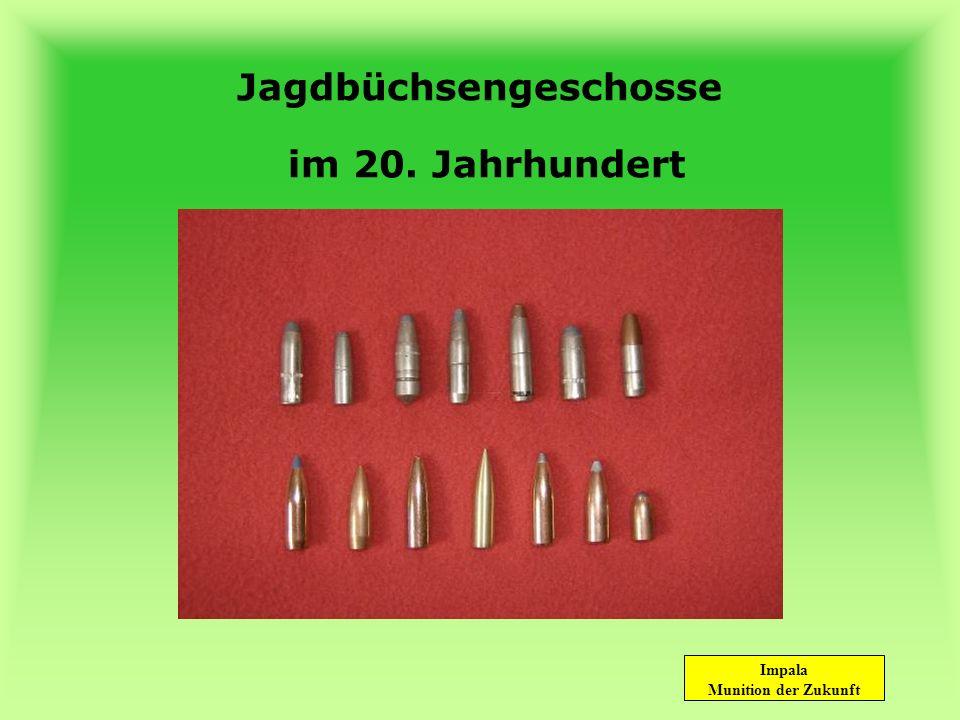 Jagdbüchsengeschosse im 20. Jahrhundert