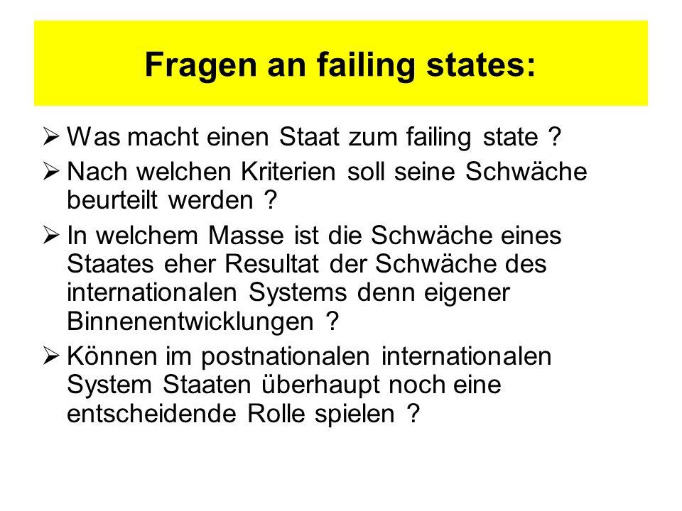 Entgrenzungskrise des Nationalstaats (I)
