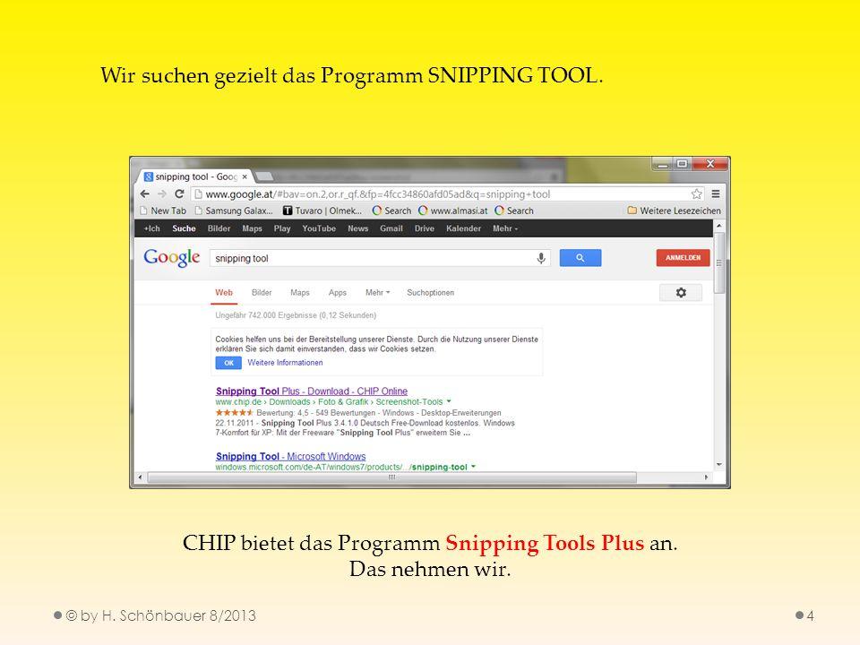 CHIP bietet das Programm Snipping Tools Plus an.