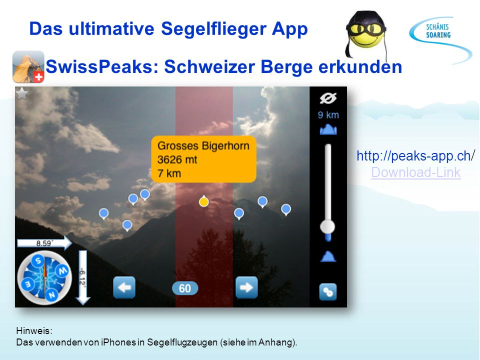 Das ultimative Segelflieger App
