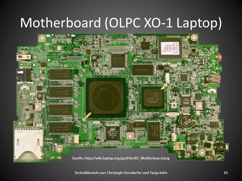 Motherboard (OLPC XO-1 Laptop)