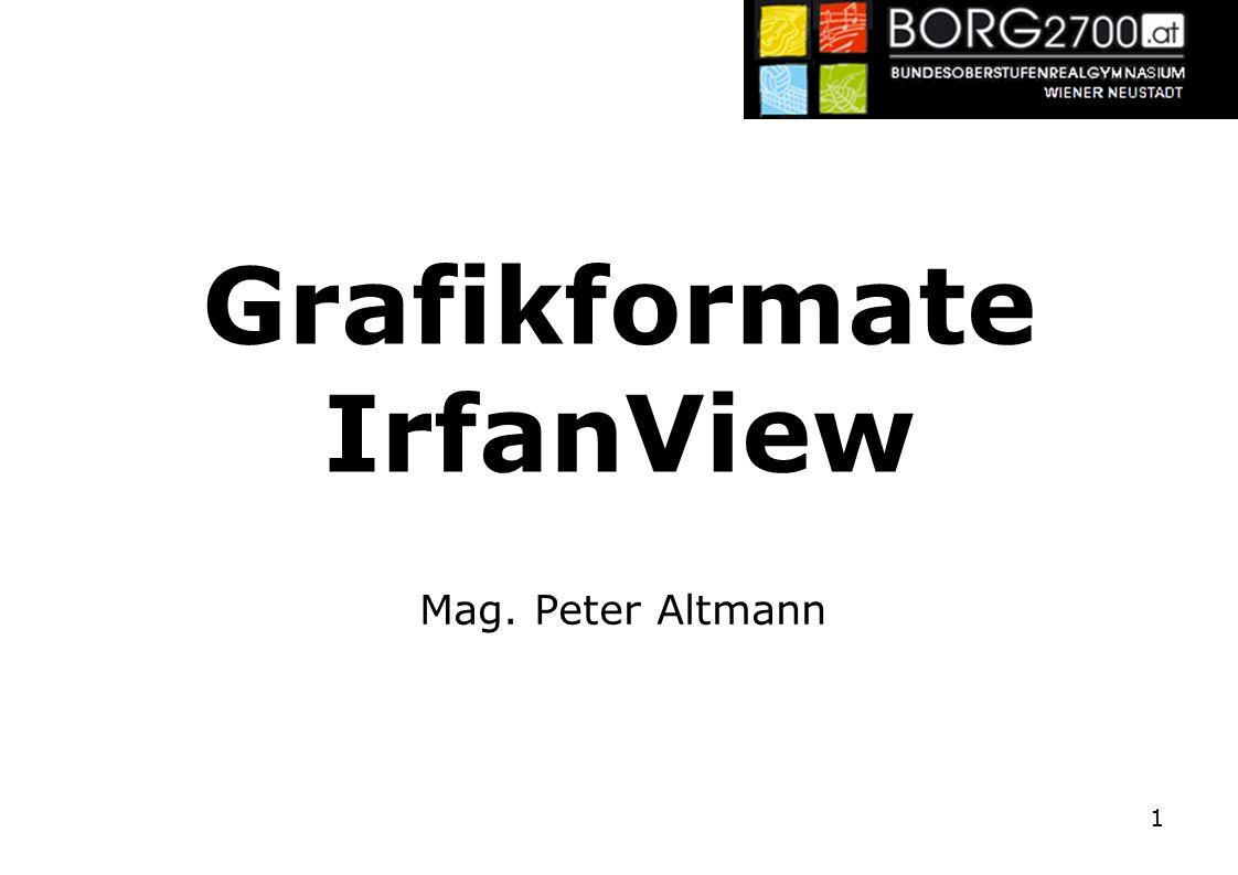 Grafikformate IrfanView