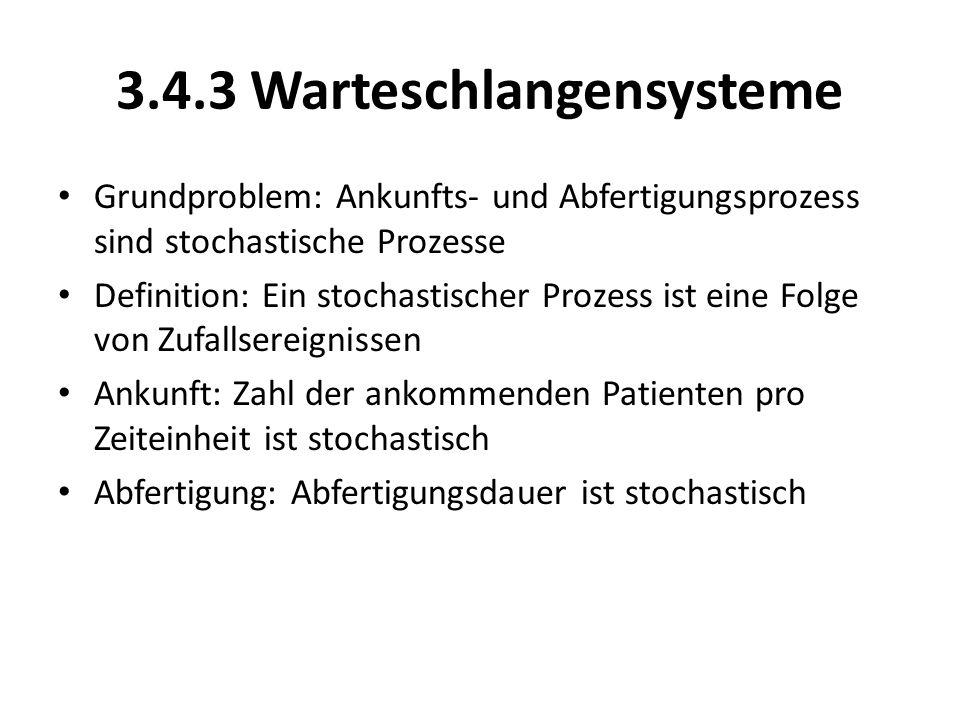 3.4.3 Warteschlangensysteme
