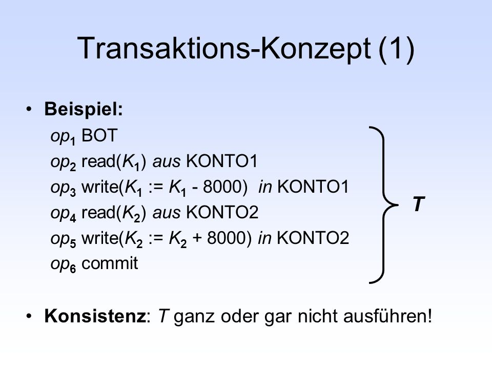 Transaktions-Konzept (1)