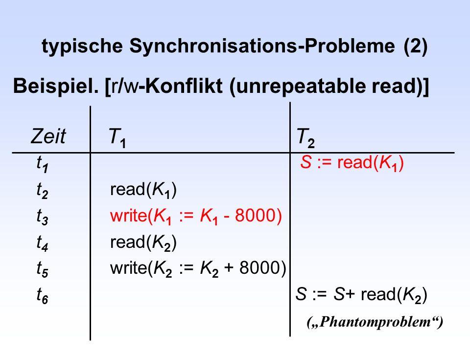 typische Synchronisations-Probleme (2)