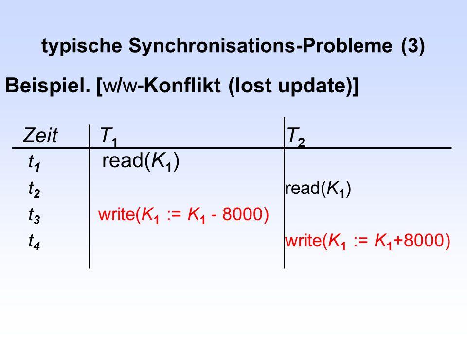 typische Synchronisations-Probleme (3)