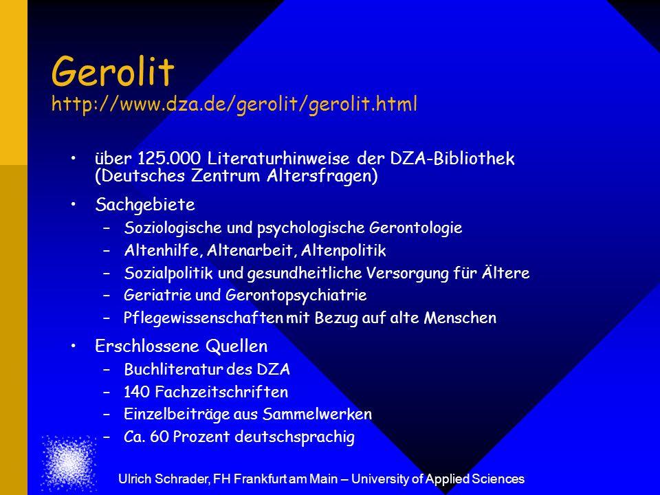 Gerolit http://www.dza.de/gerolit/gerolit.html