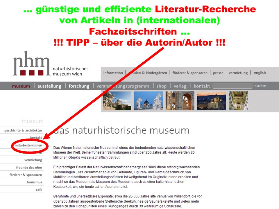 … günstige und effiziente Literatur-Recherche von Artikeln in (internationalen) Fachzeitschriften … !!.