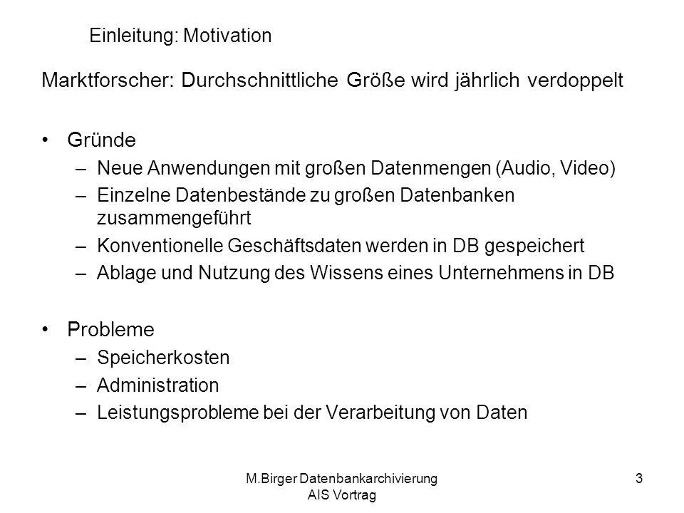 Einleitung: Motivation