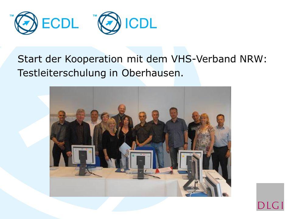Start der Kooperation mit dem VHS-Verband NRW: