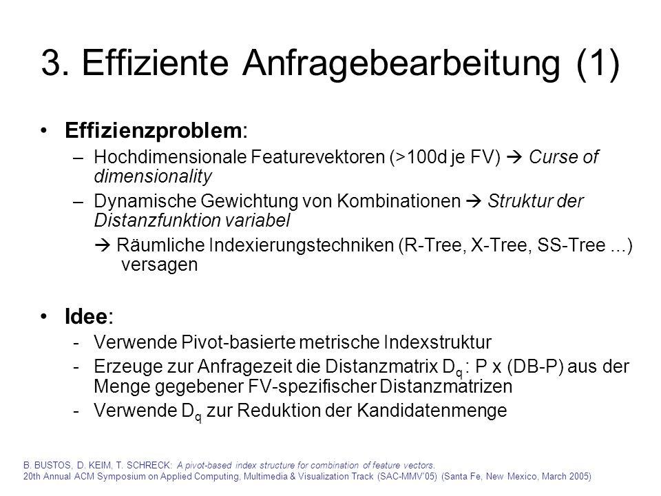 3. Effiziente Anfragebearbeitung (1)