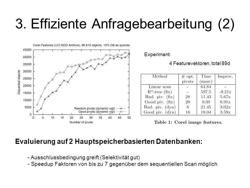 3. Effiziente Anfragebearbeitung (2)