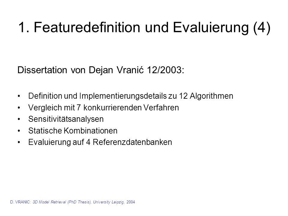 1. Featuredefinition und Evaluierung (4)