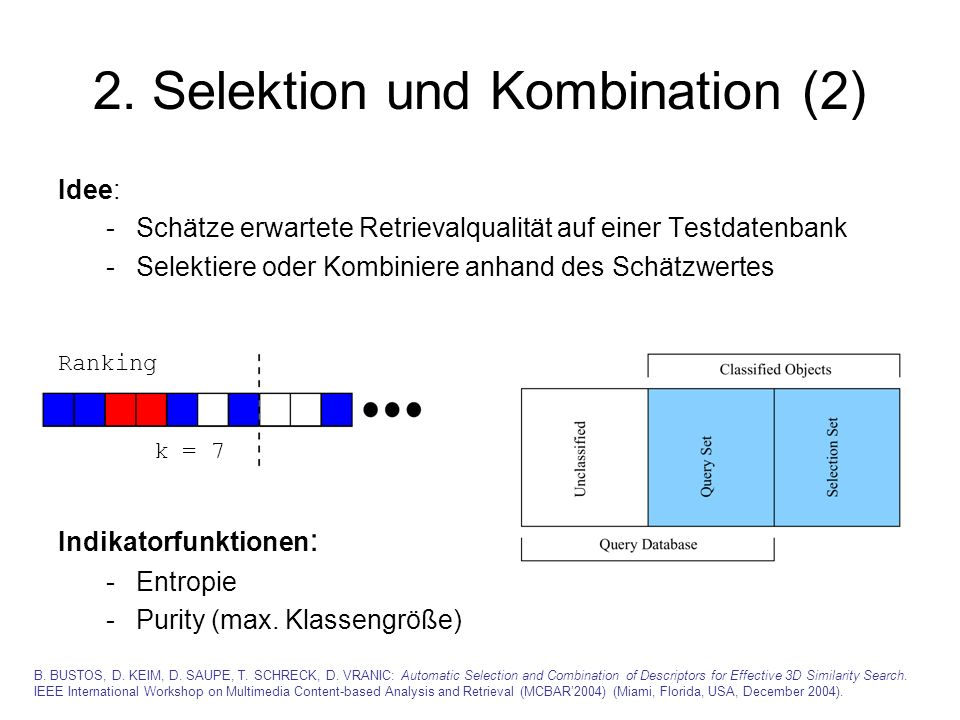 2. Selektion und Kombination (2)
