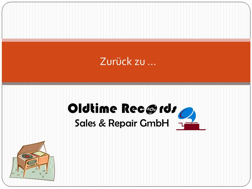 Oldtime Rec rds Sales & Repair GmbH