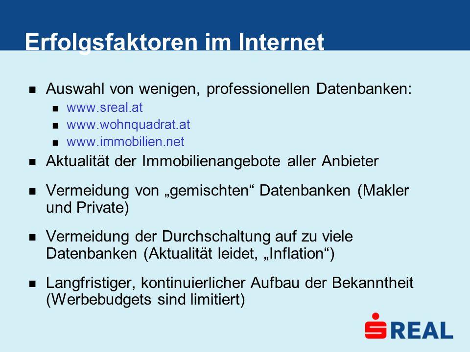 Erfolgsfaktoren im Internet