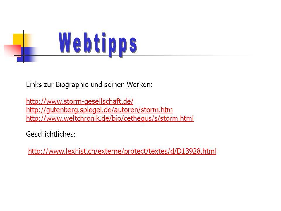Webtipps Links zur Biographie und seinen Werken: