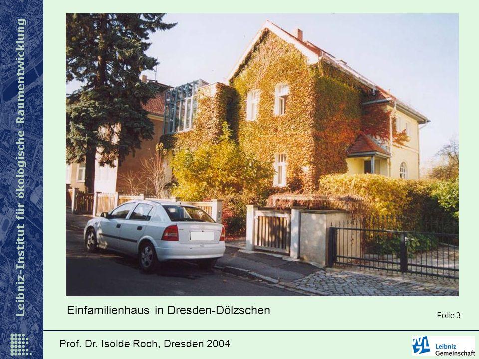 Einfamilienhaus in Dresden-Dölzschen