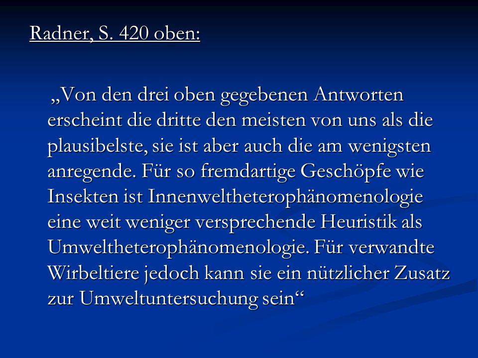 Radner, S. 420 oben: