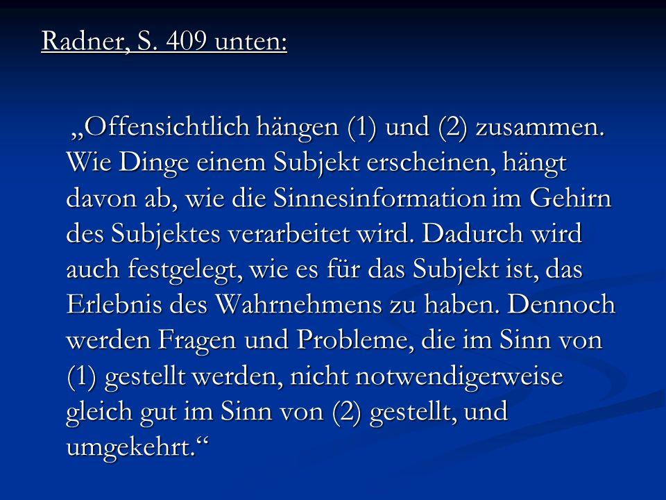 Radner, S. 409 unten: