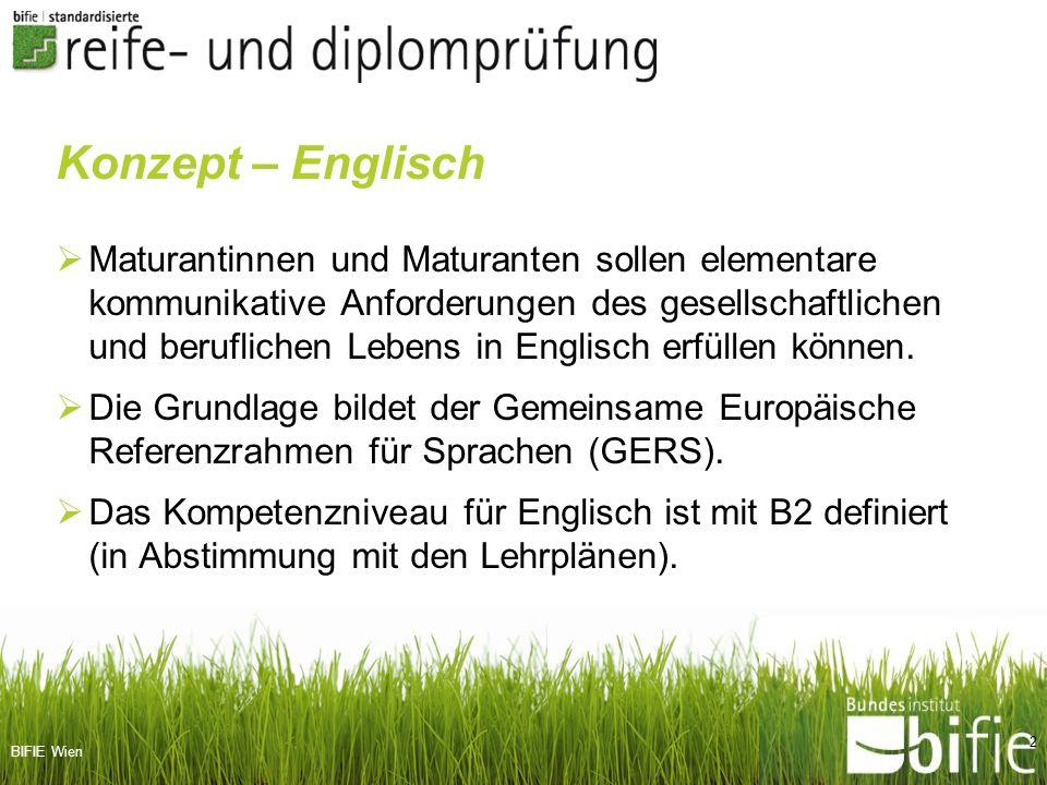 BHS LSI-Tagung, 1.2.2012 Konzept – Englisch.