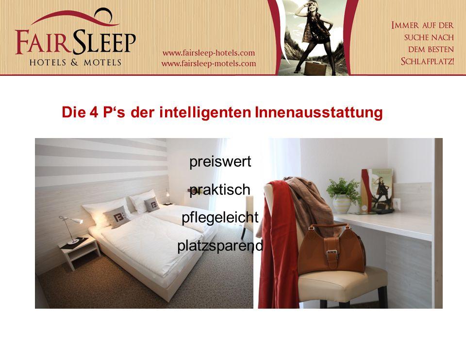 Die 4 P's der intelligenten Innenausstattung preiswert praktisch pflegeleicht platzsparend