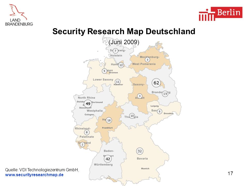 Security Research Map Deutschland (Juni 2009)